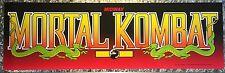 "Mortal Kombat Arcade Marquee 26""x8"""