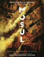 MOSUL feature documentary DVD (2019) AUTOGRAPHED edition: all regions, NTSC