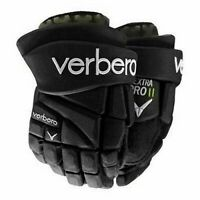 NEW Verbero Dextra Pro II Youth Black Size 10-11 Roller Inline Ice Hockey Gloves