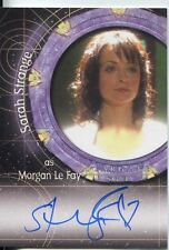 Stargate SG-1 Season 10 Autograph A104 Sarah Strange as Morgan Le Fay
