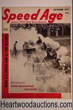 Speed Age Nov 1951