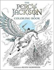 The Percy Jackson Coloring Book by Riordan, Rick -Paperback