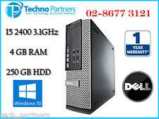 Dell Optiplex 990 Small Form Factor Desktop Computer i5 2400 3.1G 4G 250G Win 10