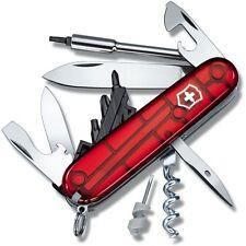 1.7605.T Victorinox Swiss Army Knife Cybertool 29 Ruby Red Item # 54919 17605T