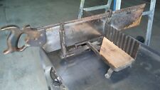 Vintage H. DISSTON & Sons Saw With Miter Box