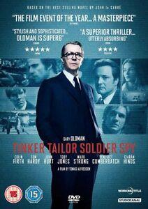 Tinker Tailor Soldier Spy (DVD) Gary Oldman, Colin Firth, Tom Hardy, John Hurt