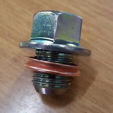 OEM NISSAN OIL DRAIN PLUG WITH WASHER