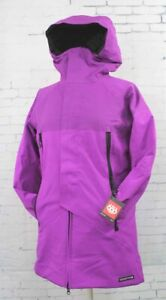 2019 686 Womens GLCR Prism Infiloft™ Snowboard Jacket Small Violet Engineered