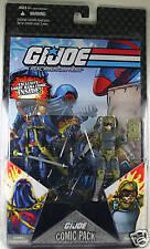 G.I.Joe Comic Pack - Cobra Commander and Tripwire