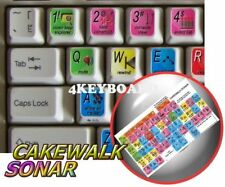 Cakewalk Sonar keyboard sticker