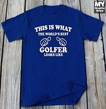 This is What The World's Best Golfer Looks Like Shirt Birthday Gift Golf T-shirt