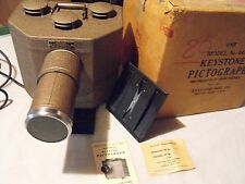 Pictograph Keystone Model 441 projects photos postcards and more in original box