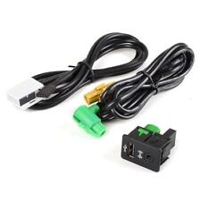 USB Aux in Button Switch Cable for VW Passat Golf MK6 Jetta Radio
