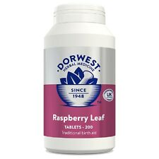 Dorwest Raspberry Leaf Tablets, 200, Premium Service, Fast Dispatch