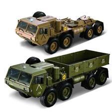UK Stock 8*8 RC US Military Truck Metal Chassis Model Car P801 2.4G 1/12