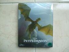 Pete's Dragon (2017, Blu-ray) Steelbook w/ PET Slip Case / Korean Edition