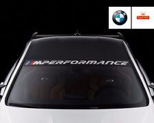 BMW M PERFORMANCE Parabrezza Adesivo Decalcomania Finestre Adesivo Grafica f30 f10