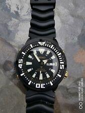 Seiko Prospex Automatic Divers Black Polyurethane Men's Watch SRP641K1