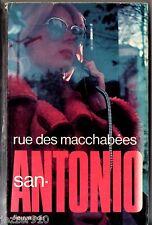 SAN-ANTONIO n°4 - rue des macchabees - 23/02/1973 F1