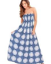 Vestiti da donna blu maxi