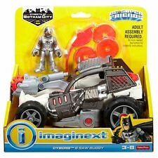 Imaginext DC Super Friends Streets of Gotham City Cyborg and Saw Buggy