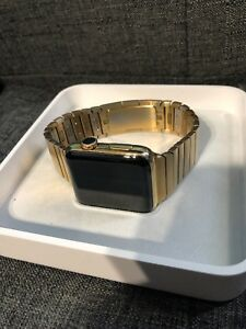 Series 2 apple watch gold plated 42mm