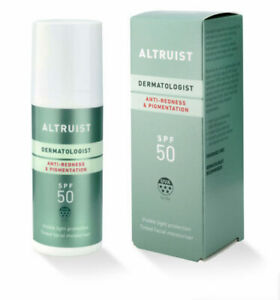 Altruist Anti Redness & Pigmentation 50ml SPF 50 Sun cream tinted moisturiser