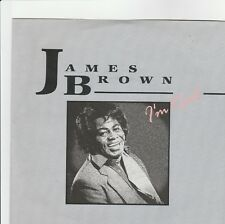 "JAMES BROWN - DISCO 45 GIRI ""I'M READ"" (1988) DISCO NUOVO!"