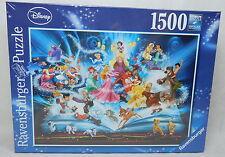 ORIGINALE Ravensburger puzzle Disney 1500 pezzi MAGICO FIABE libro 16318