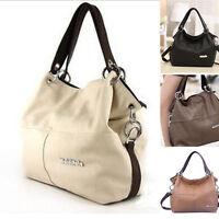 ❤Women's Soft PU Leather Tote Shoulder Bags Handbags Satchel Messenger Bag Purse