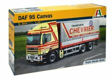 DAF 95 Canvas Truck Camion Plastic Kit 1:24 Model ITALERI