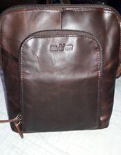 Contigo Fair Trade Leather Backpack Purse
