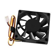 UK Quiet Radiator 70x70x15mm 12V Computer PC CPU Silent 3000RPM Cooling Fan