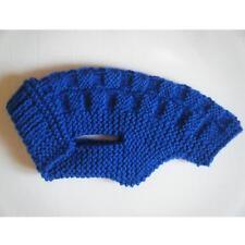 Manteau / Pull Petit Chien  Dos 30cm : 30 x 30cm : Bleu Roi