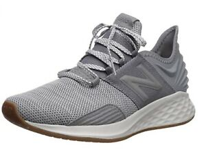 NEW BALANCE Fresh Foam Roav Knit Running Sneaker Men Gunmetal Gray