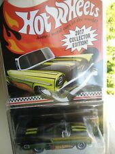 2017 Hot Wheels Collector Edition '56 Chevy Convertible FFY68 1:64 Scale