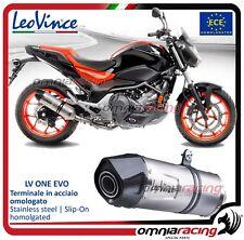 Leovince LV One EVO Pot D'Echappement Honda NC750 S/X/DCT/ABS 2016>2017