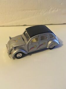 rare WELLY 1/34 123 MM CITROEN 2CV GRISE  #9046