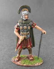 60mm 1/30 White Metal Hand Painted Toy Soldier - armor ROMAN Centurion w/ CLUB