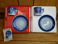 Royal Copenhagen 1979 & 1980 Christmas Cups + Saucers - New in Box Vintage