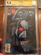 Lobo  1  1990 DC - CGC SS 9.4 Signed by Keith Giffen And Simon Bisley  1st Solo