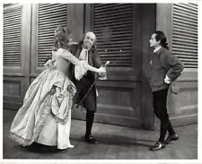 "Betty Buckley ""1776"" Howard Da Silva / William Daniels 1969 Broadway Press Photo"