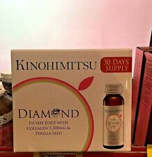 KINOHIMITSU Collagen Diamond Lychee 5300mg 50mlx16's Smooth and younger skin