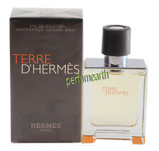 TERRE D' HERMES BY HERMES 1.6/1.7 OZ EDT SPAY FOR MEN NIB