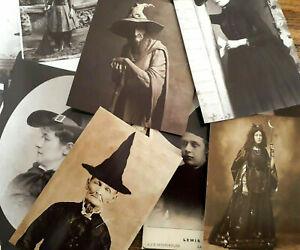 50 Vintage Witchcrafts Ephemera Magic Witch Halloween Ephemera Junk Journals