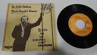 "KELLY GROUCUTT OH LITTLE DARLING 1982 RCA SINGLE 7"" VINYL SPANISH EDITION RARE"