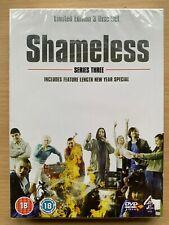 Shameless Season 3 DVD Box Set British Comedy Drama Series 3-Discs BNIB