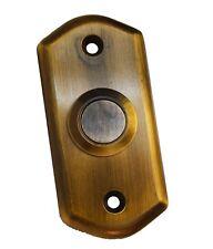 Latón Antiguo Estilo Victoriano Puerta Campana Pulsador Interruptor por Carlisle Brass (AQ31FB)