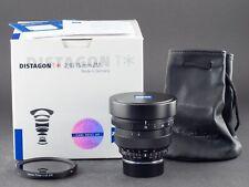 Zeiss Distagon 15mm 2.8 schwarz Leica M-Mount  FOTO-GÖRLITZ Ankauf+Verkauf