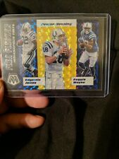 New listing Peyton Manning Indianapolis Colts 2020 Mosaic Flea Flicker Gold 17/20